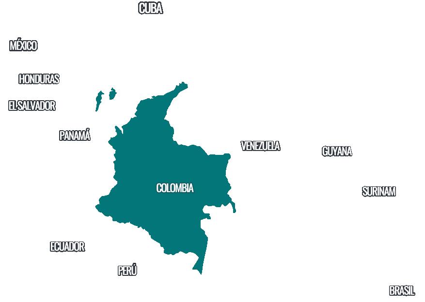 Colombia En La Ruta De Los Migrantes Irregulares Investigacion La F M